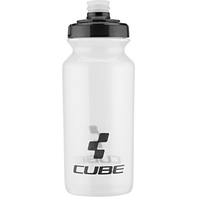 Cube Icon Drinking Bottle 500ml transparent